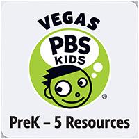 Vegas PBS KIDS PreK-5 Resources