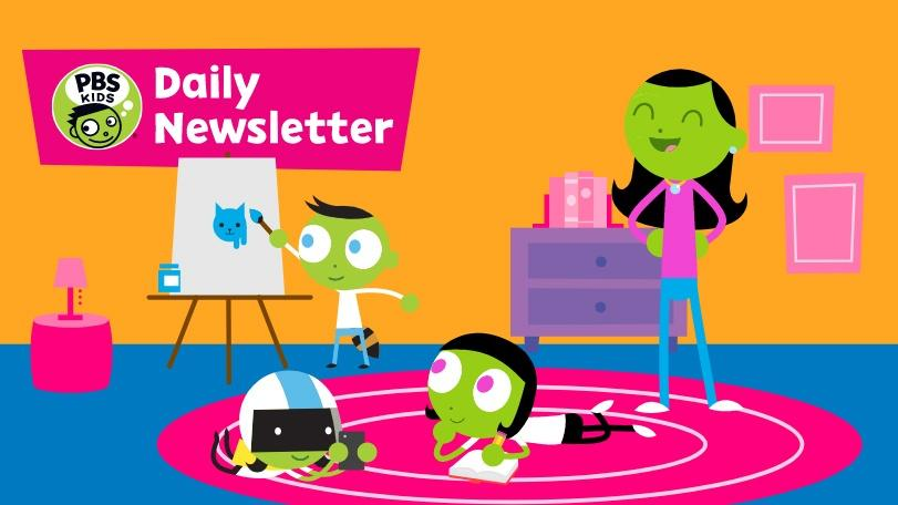 PBS Daily Email for Parents