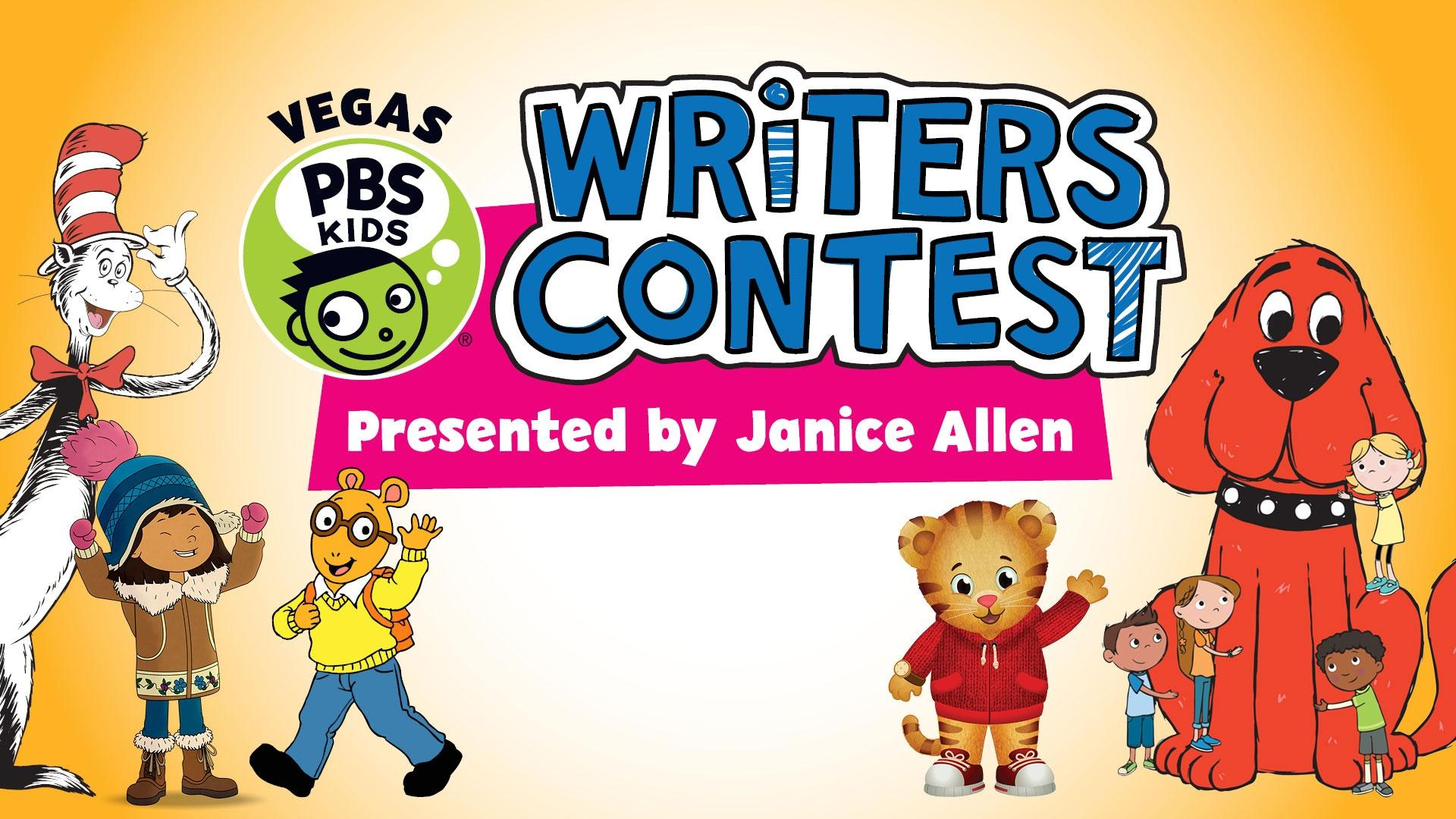 VEGAS PBS KIDS Writers Contest Presented by Janice Allen
