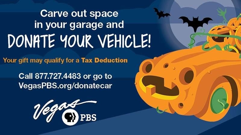 Support Vegas PBS | Donate Your Vehicle!