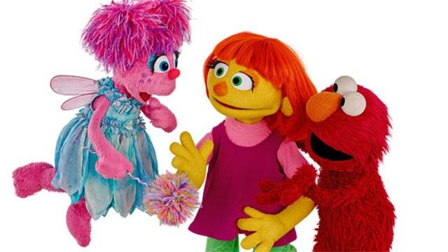 Julia, Sesame Street's New Character with Autism