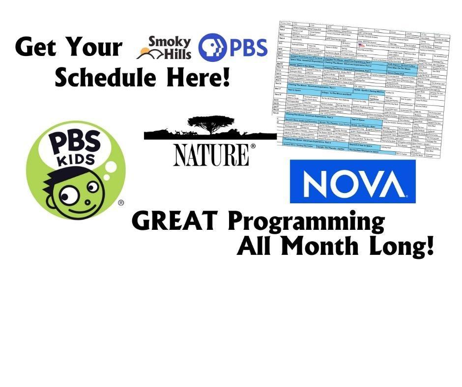 Printable Program Guide for Smoky Hills PBS