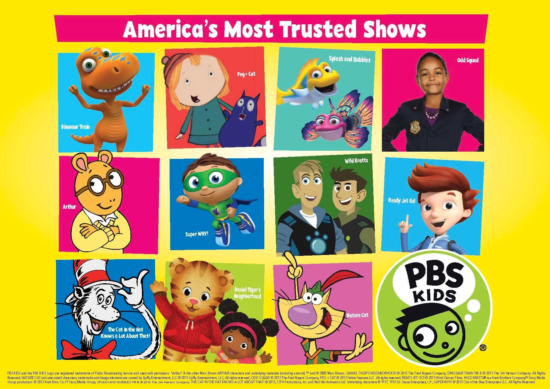 PBS Kids - America's Most Trusted Shows