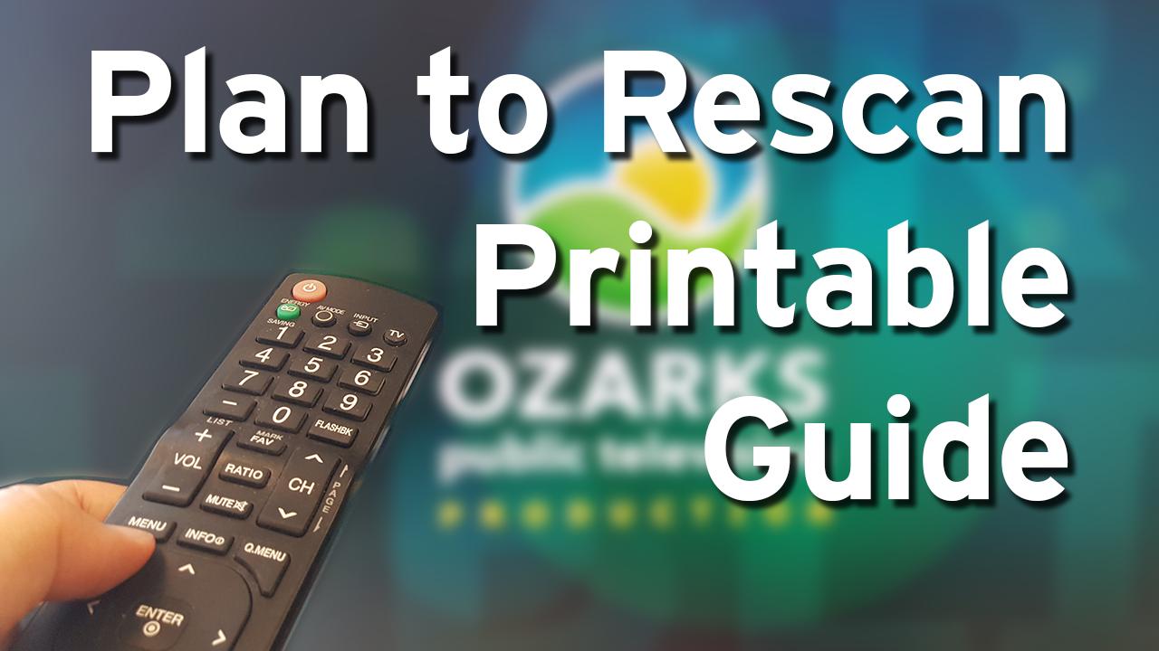 Plan To Re-Scan