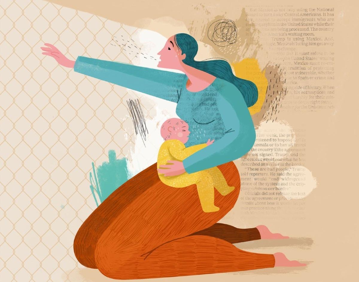 Escucha Mi Voz Hear My Voice illustration by Maria Lumbreras