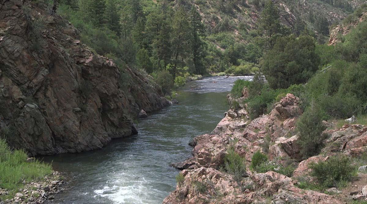 Opening day at Waterton Canyon