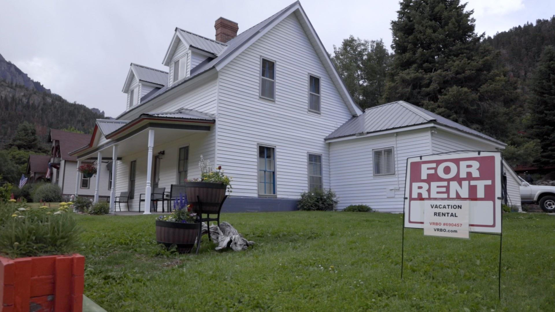 Vacation homes have eaten up a huge portion of the town's housing, pushing out the locals who can no longer afford to live there.