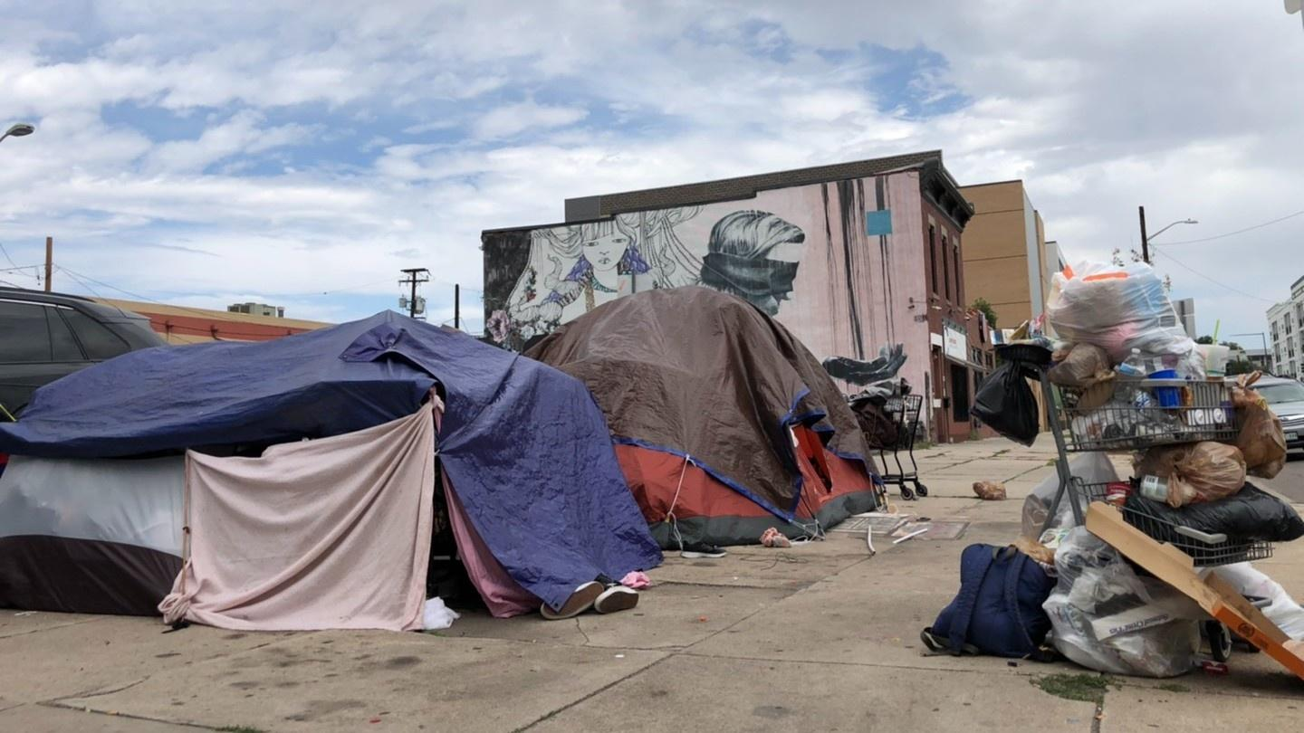 The number of people experiencing homelessness in the Denver area has surged, likely due to the impacts of the COVID-19 pandemic.