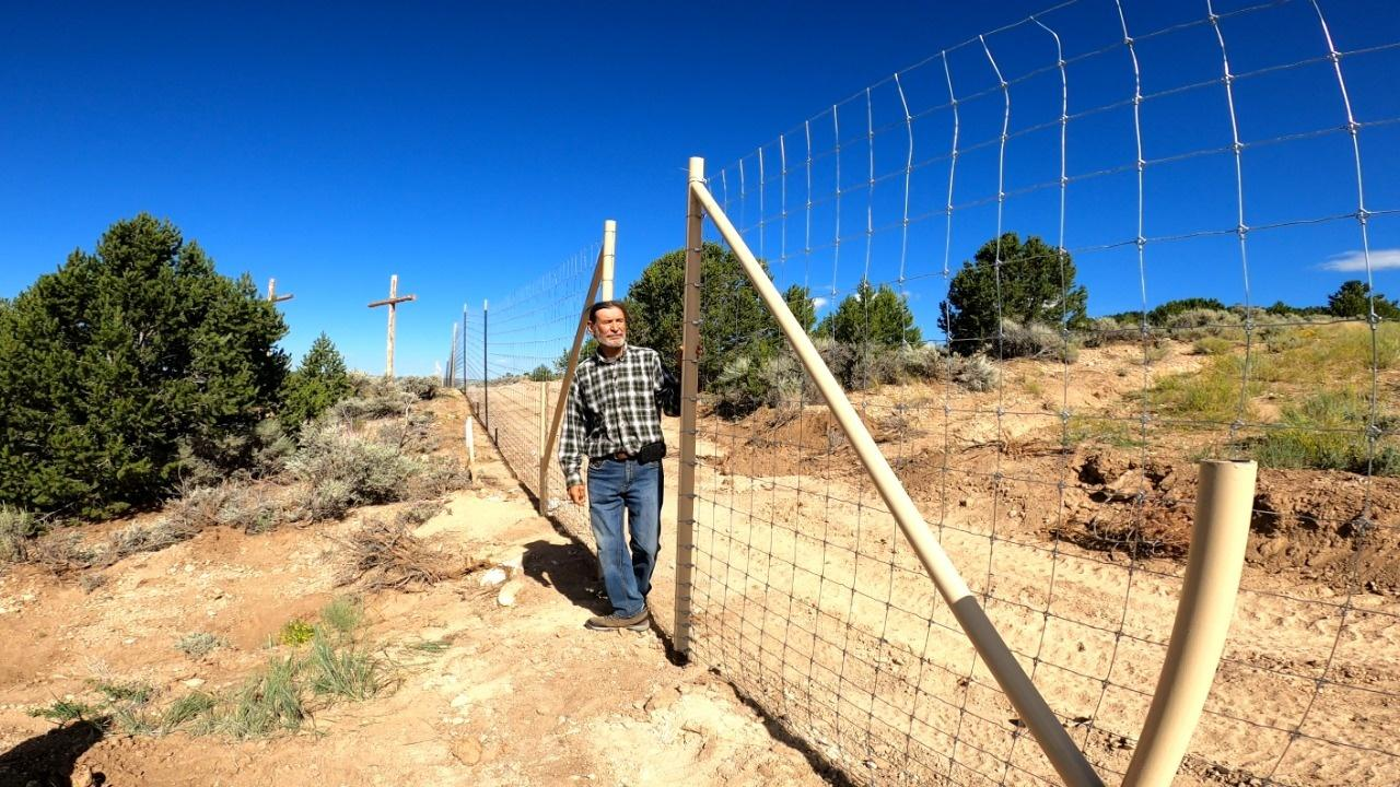 In a small Colorado village near the border of New Mexico, Colorado's last active Penitente Morada faces a cultural crisis. The community's annual religious procession, Via Crucis — held since the 1870s — is under threat after construction of a private property fence across the historic path.