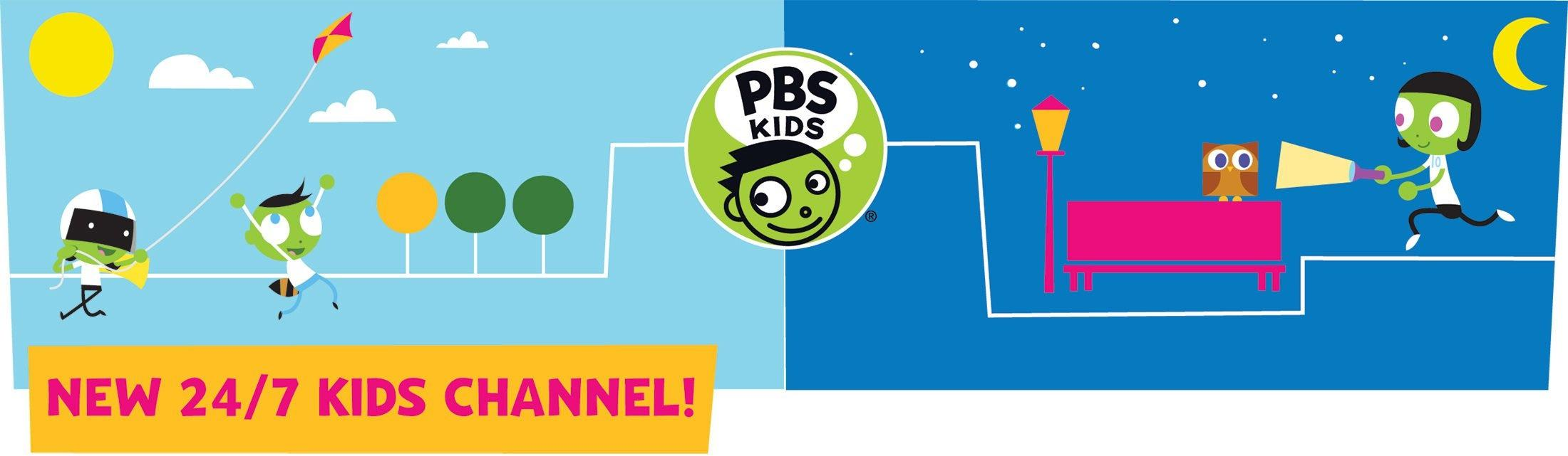 PBS KIDS 24/7 Channel header