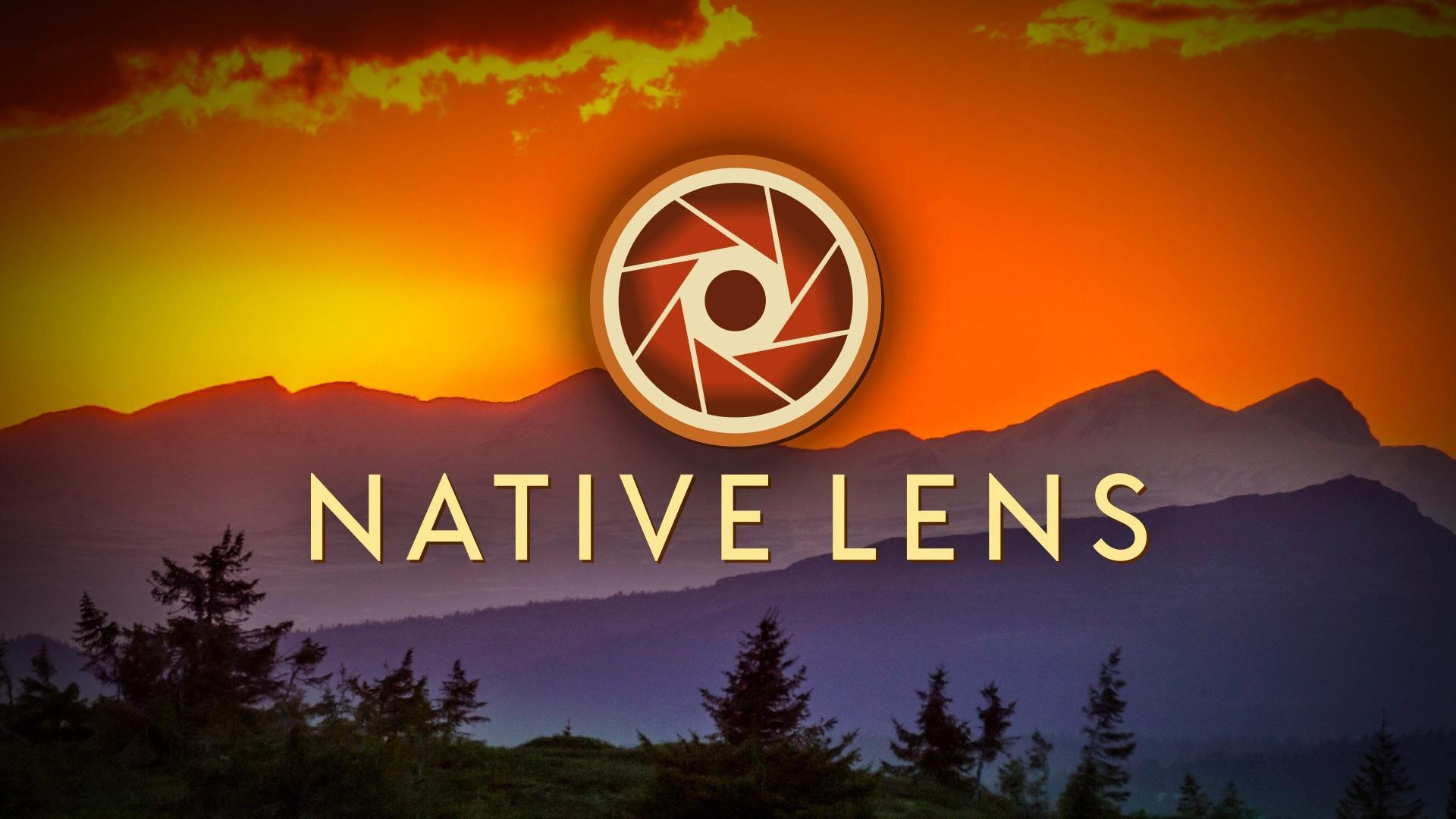 Native Lens Sunset Logo