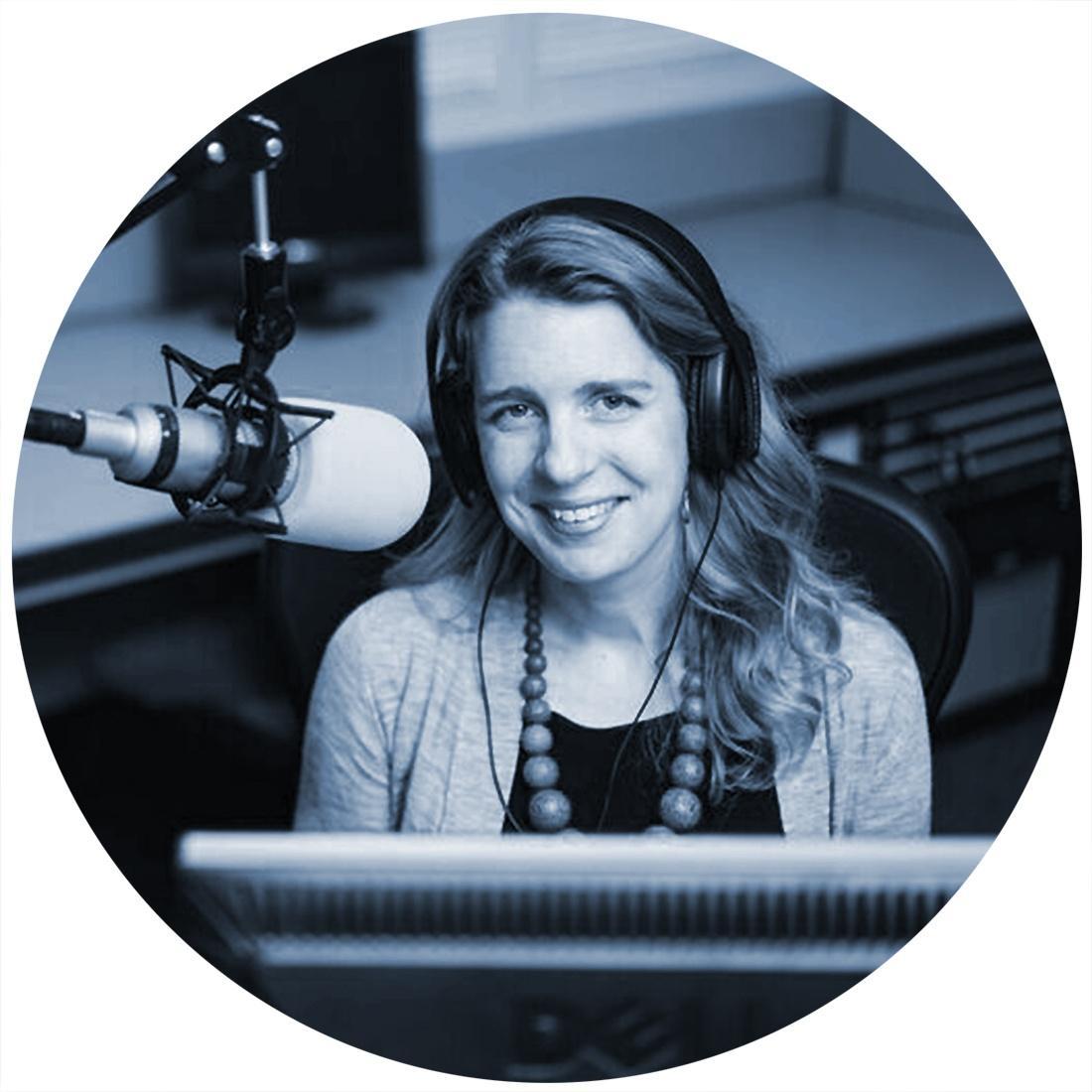Andrea Smardon, host of More Than Half Podcast