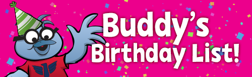 Buddy Birthday List