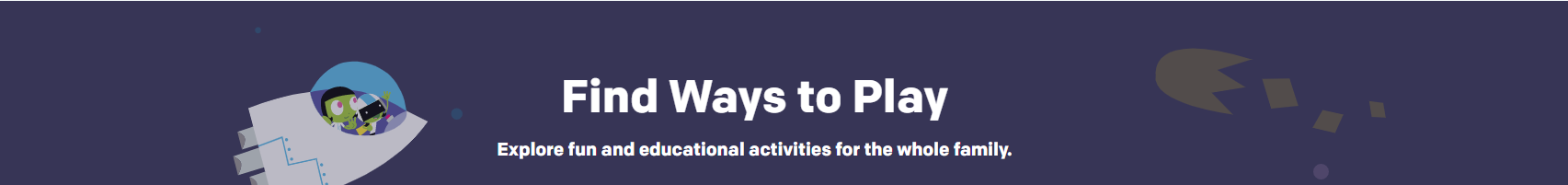 Find Ways to Play - PBS Activities