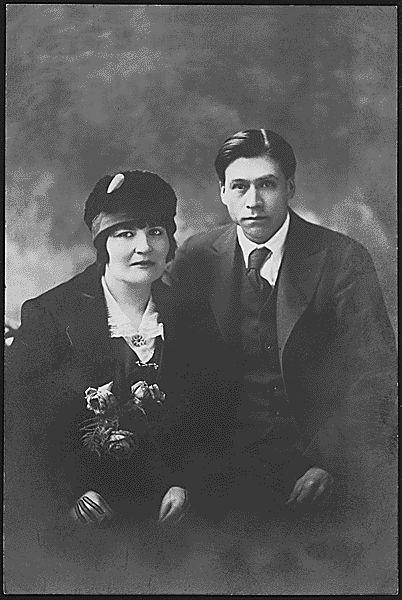 Formal Portrait of Unidentified Couple
