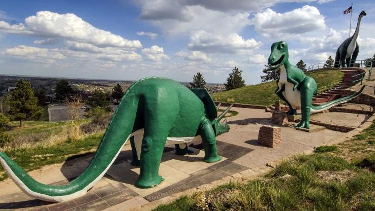 dinosaur park, rapid city