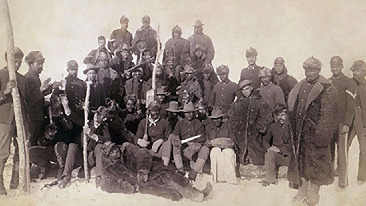 buffalo soldiers - 1890