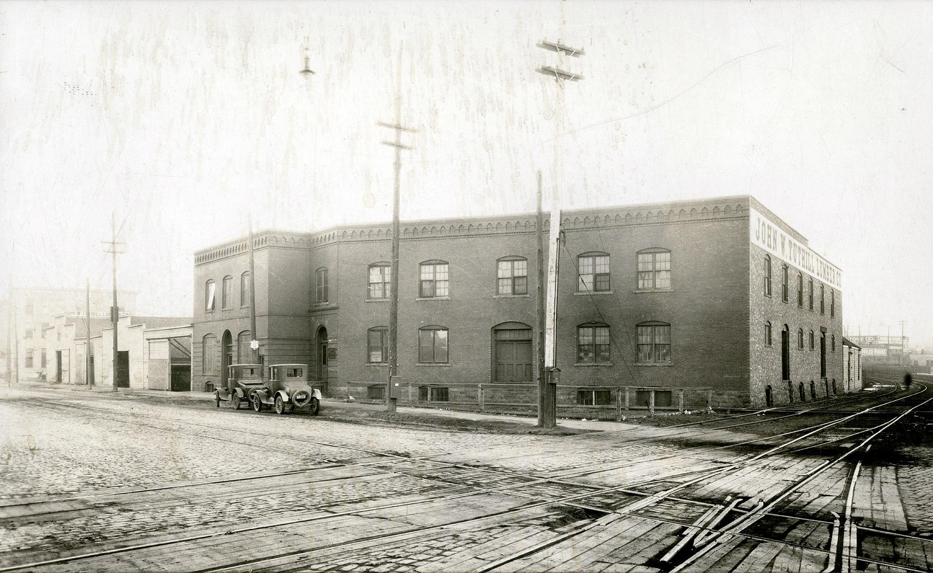 Tuthill Lumber Company Building.