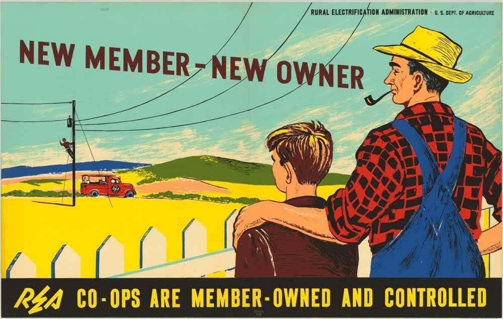 Electric Cooperative Promotional Poster