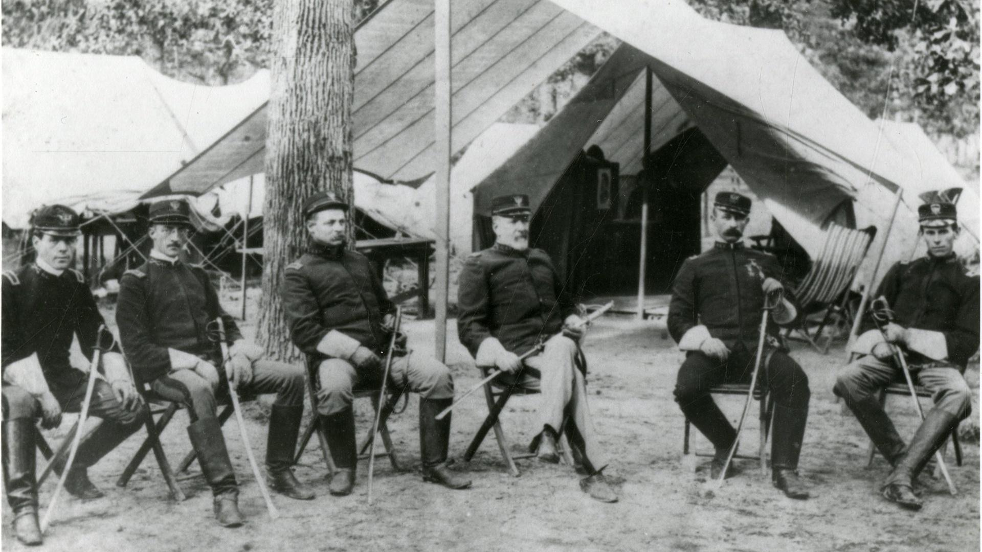 grigsby with other officers