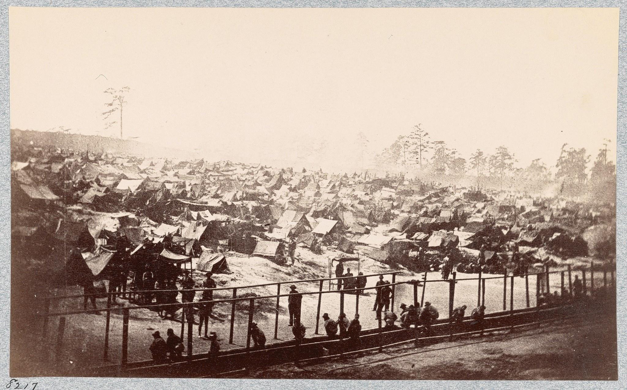 andersonville prison camp, Georgia