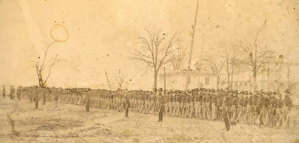 2nd Wisconsin Cavalry at St. Louis