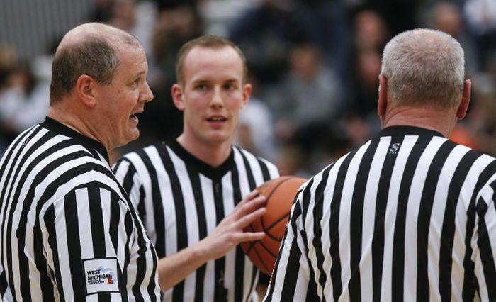 High School referee's