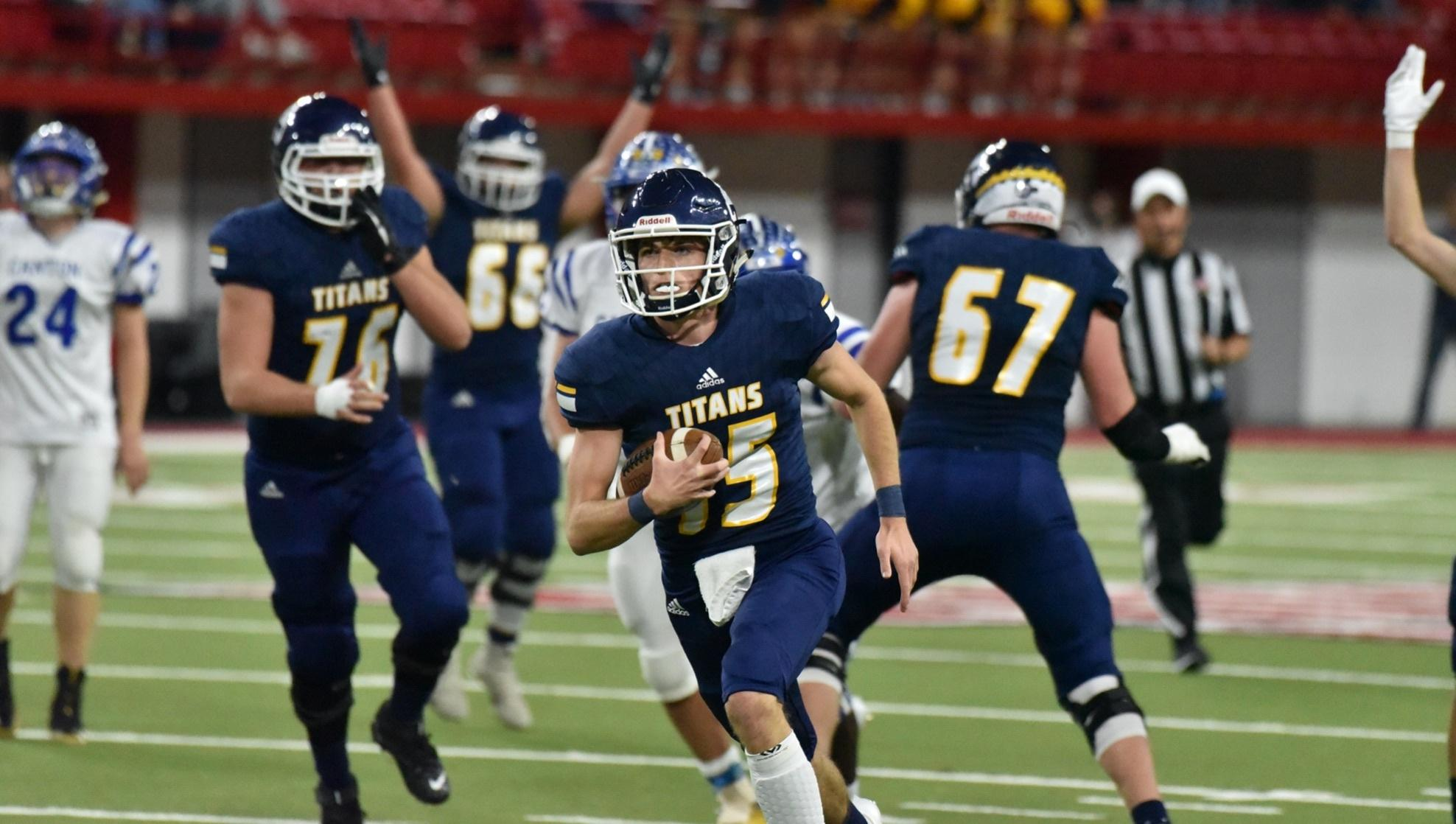 Tea Area Throttles Canton in 11A title game