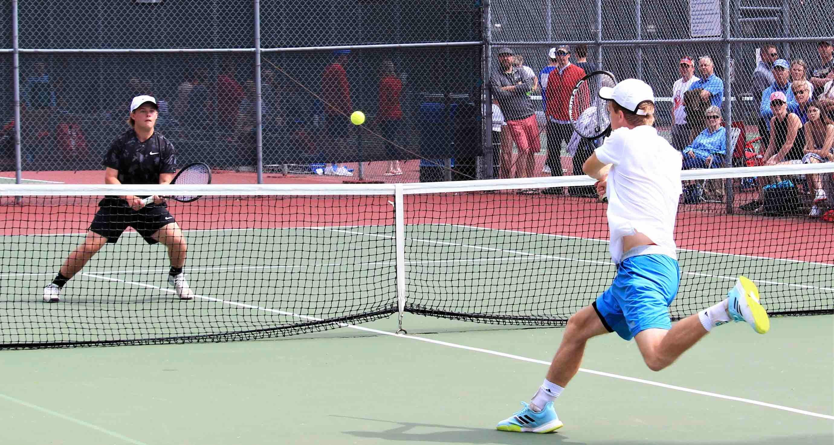 2021 'AA' Boys State Tennis Championships, Final Results