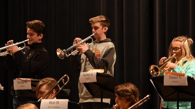 HS Jazz Band Pix