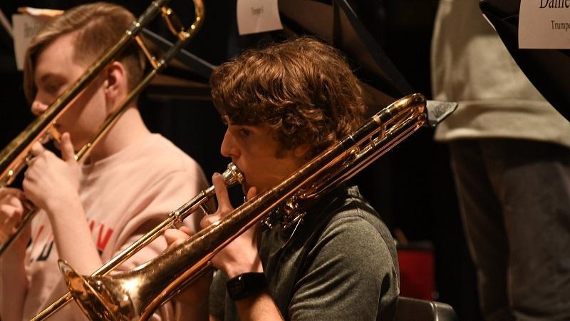 HS Jazz Band photo link