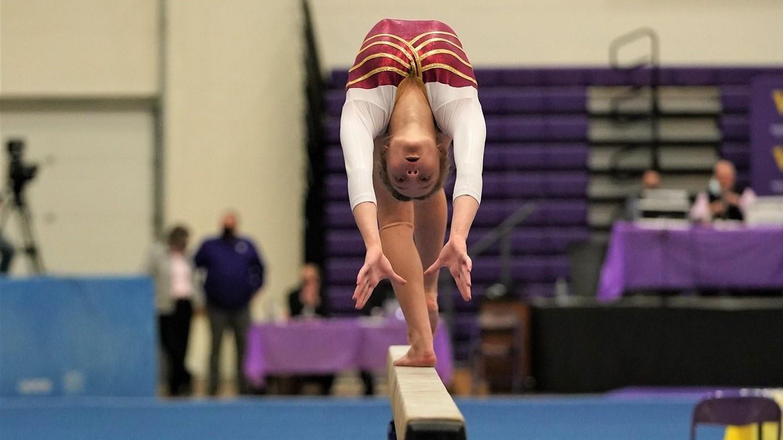 State A Gymnastics Photos