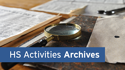 SDPB HS Activity Archive