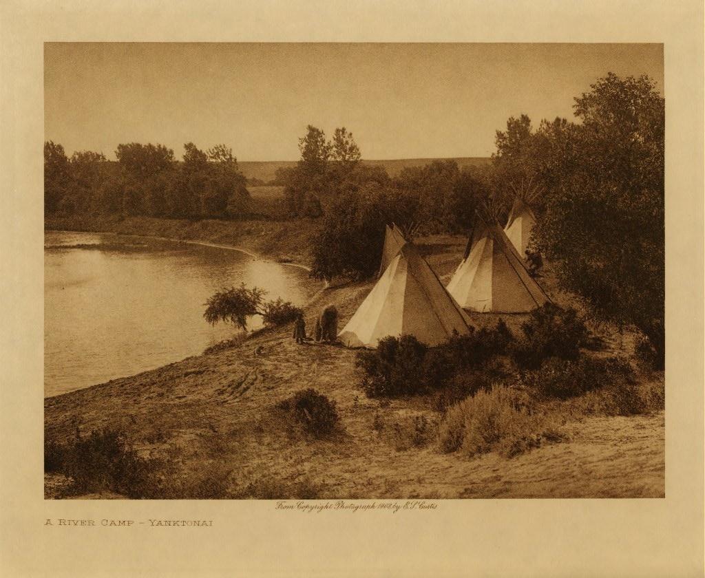 Yanktonai Dakota camp