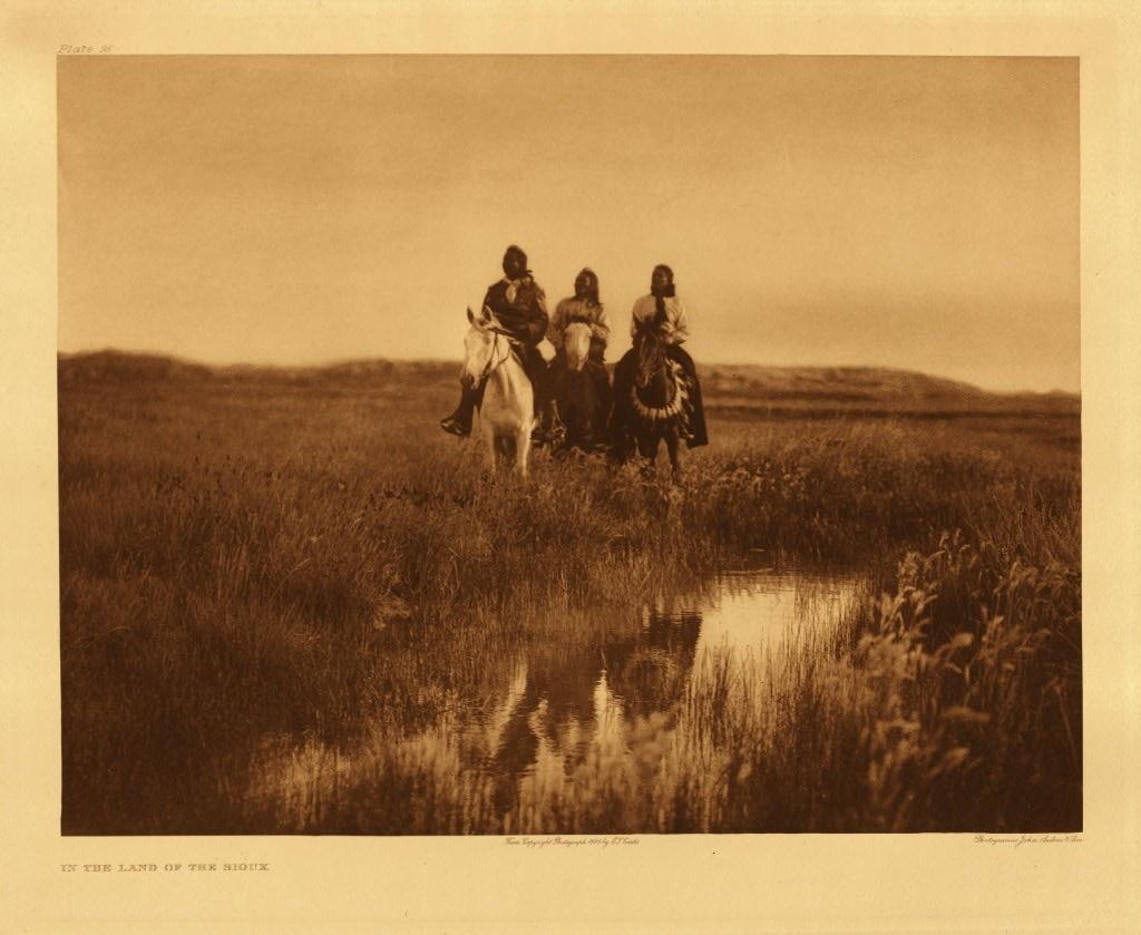 Three Native American Riders