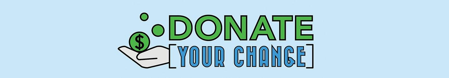 Donate Your Change