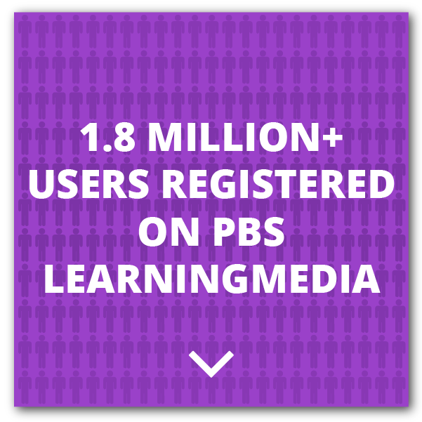 1,800,000+ Users Have Registered Access to PBS LearningMedia