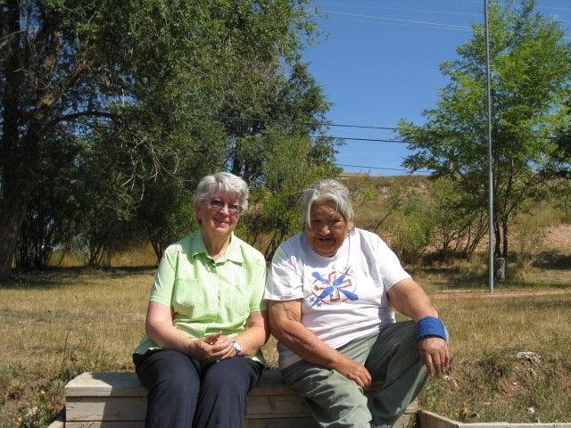 Janet Mullen and Teddy McMakin in Lame Deer