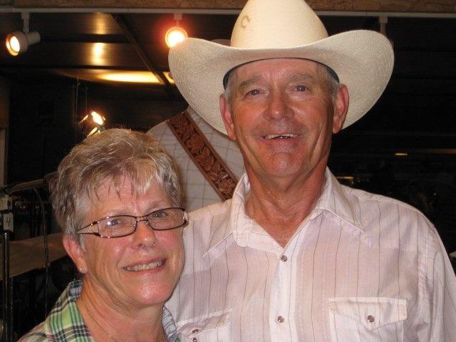 Diane and Gary Wacker of Roundup
