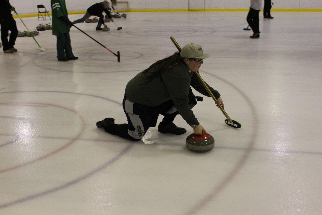 Jess Hensley Whitefish curling stone annual bonspiel Havre
