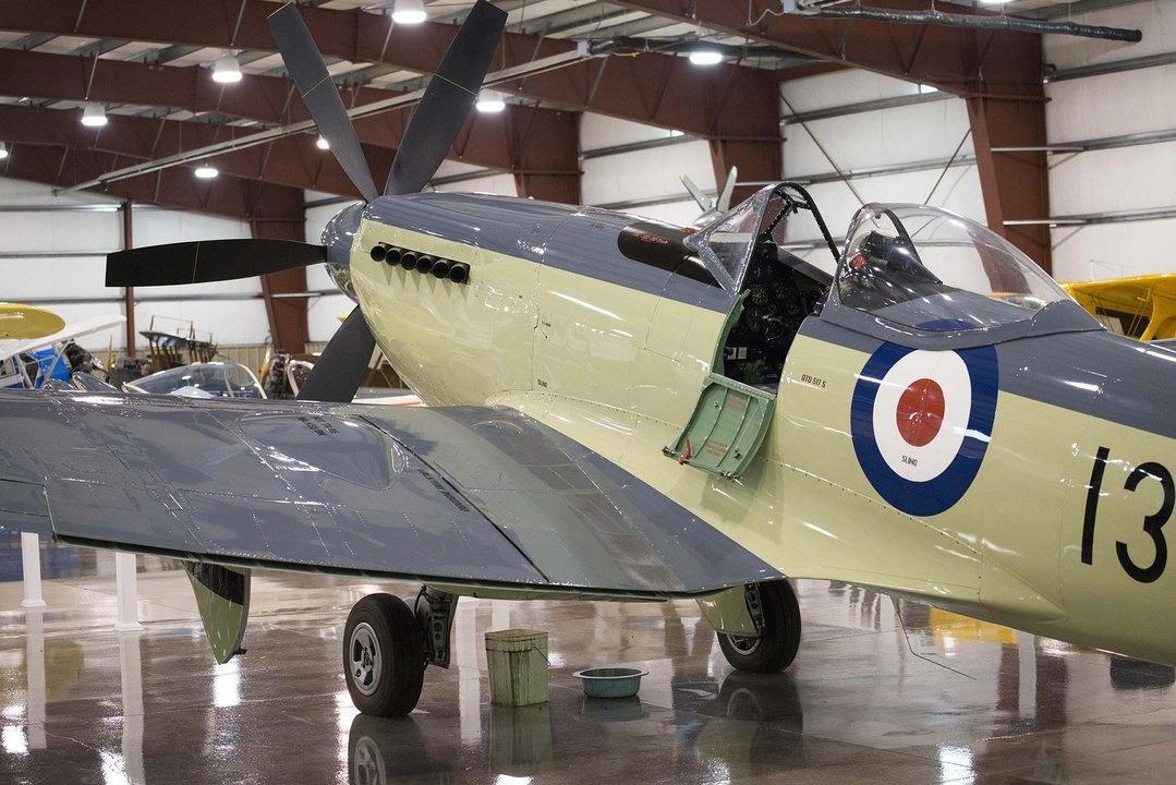 Stonehenge Air Museum Fortine Vickers Supermarine FR Mk 47 Seafire