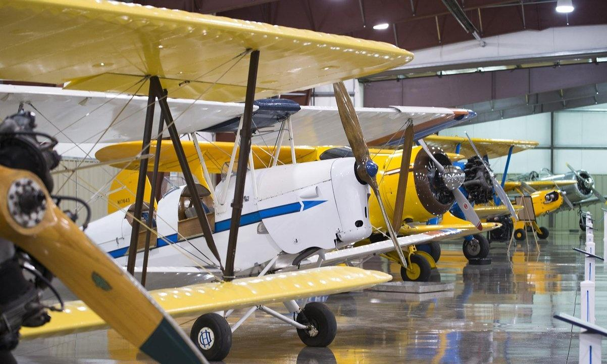 Stonehenge Air Museum Fortine Bi-planes BT-138 Valiant