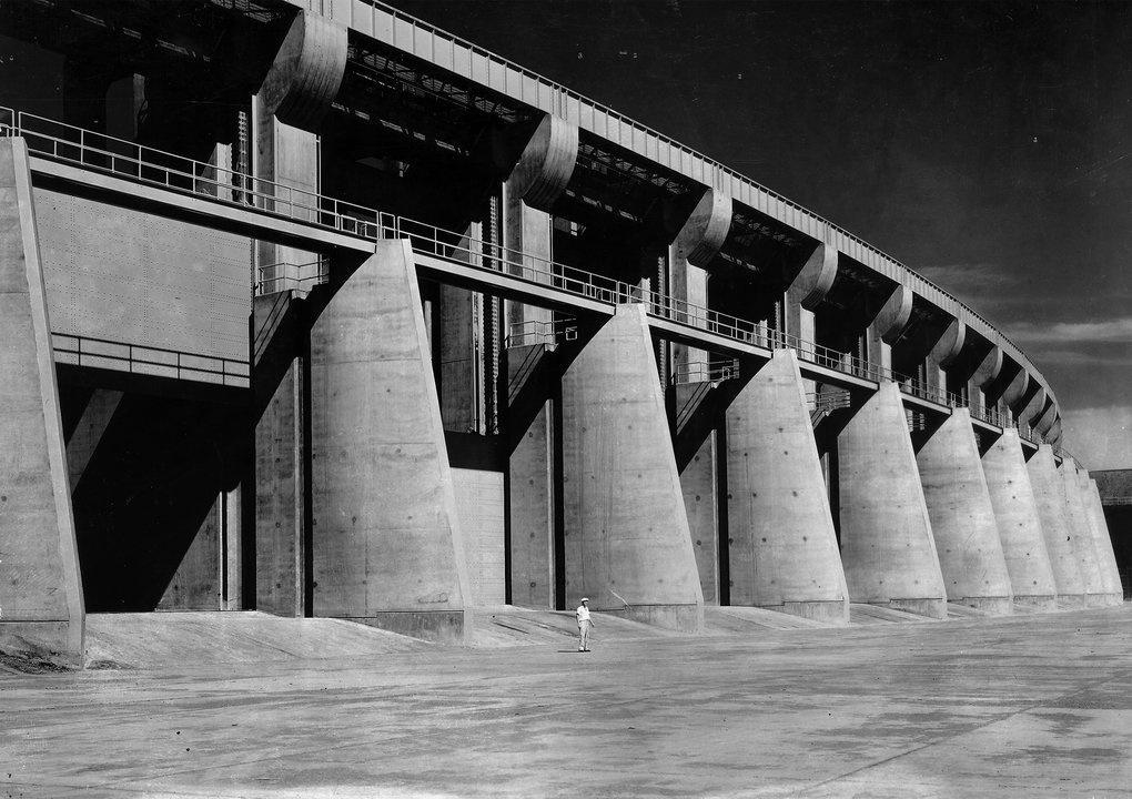 Spillway Montana Fort Peck Dam