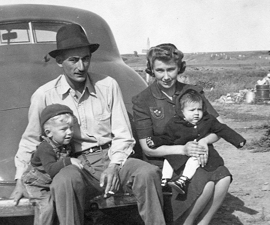Presser Family Fort Peck Grove Park Dam