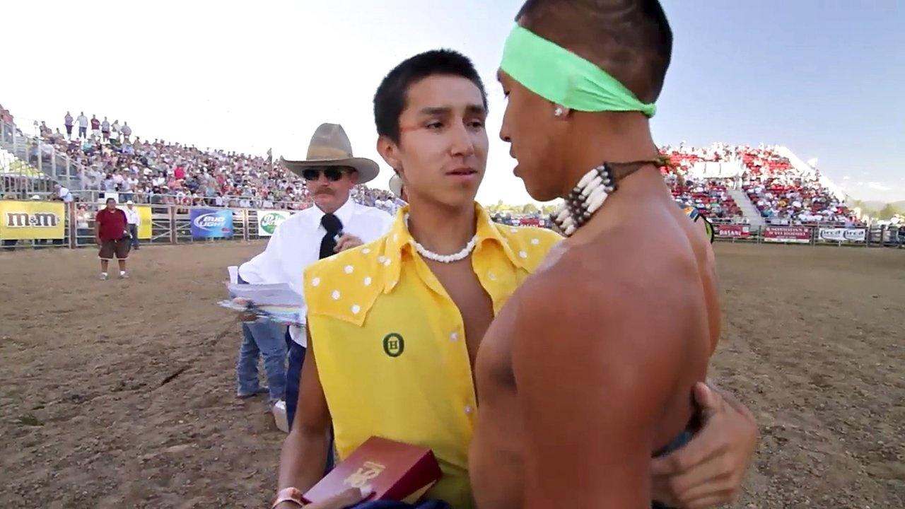 Luke Zack Rock Indian Relay World Championships Sheridan WYO Rodeo