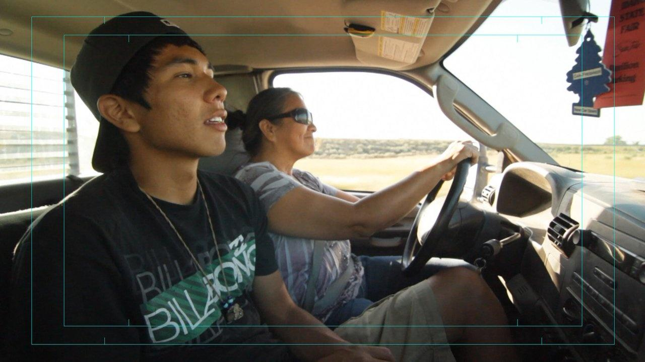 Carol Murray Grandson Myles Murray truck Blackfoot Idaho