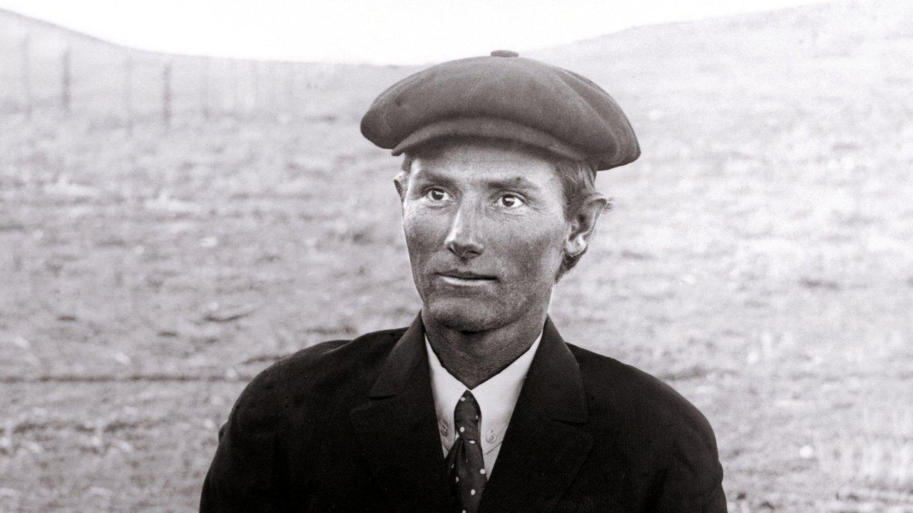 Young Virgil Stewart eastern Montana