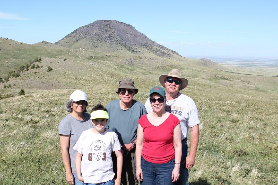 Cicon and Devlin families Sweet Grass Hills