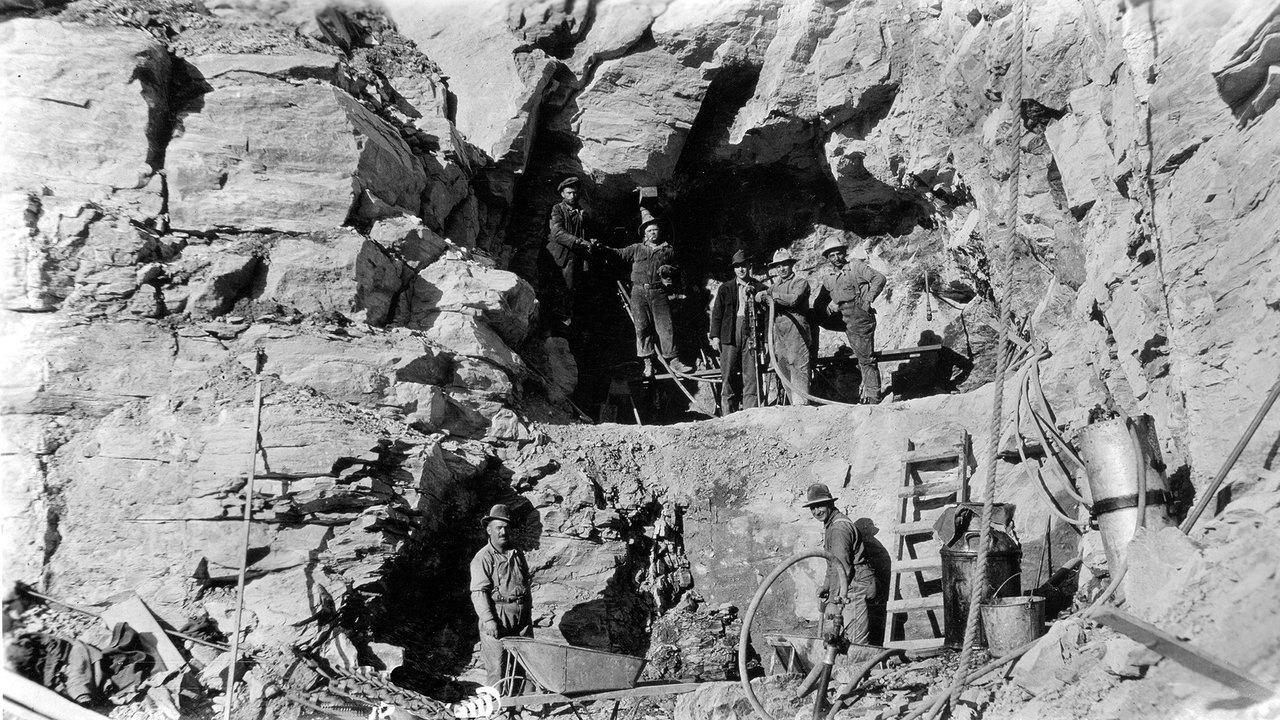 West side tunnel 1926 Glacier Park Archives