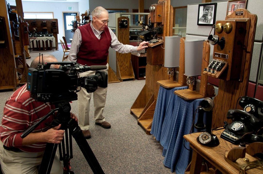 Kalispell phone collector Frank Gebhardt